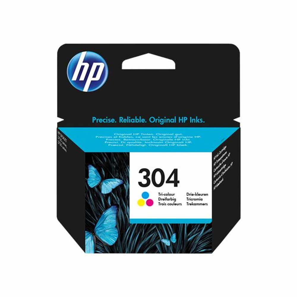 Cartuccia originale HP 304 a colori alta resa e qualita' di stampa N9K05AE  foto 2