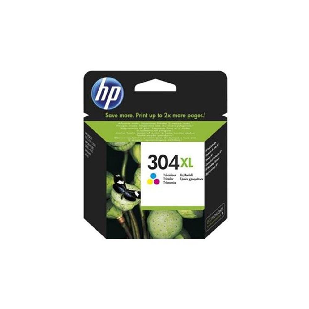Cartuccia originale HP 304XL inchiostro a colori ad alte prestazioni N9K07AE  foto 2