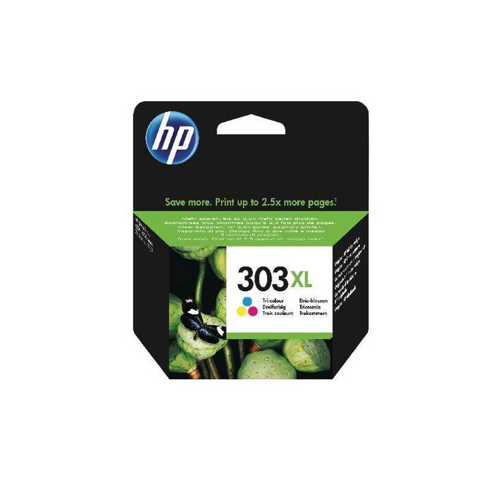 Cartuccia originale HP 303XL inchiostro a colori ad alte prestazioni T6N03AE  foto 2