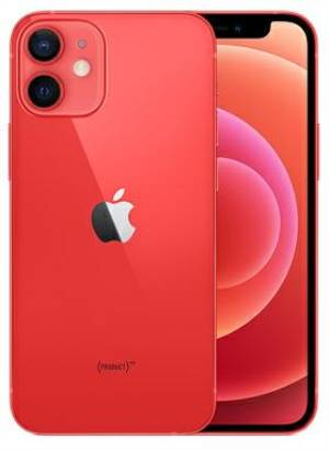 Apple iphone 12 mini 256gb 5.4 (product)red eu mgec3fs/a