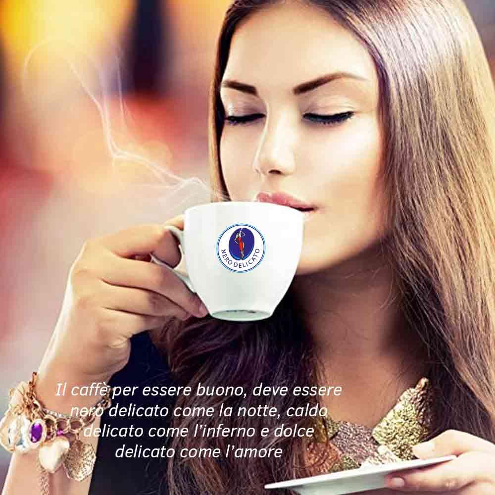 Kit cialde caffe' aroma ischia con kit 50 pz foto 4