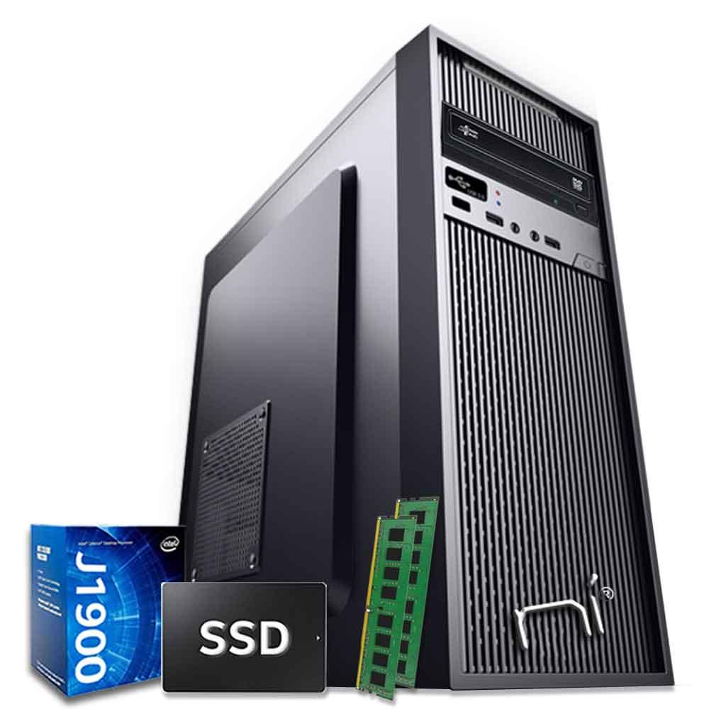 Pc Desktop Windows 10 Intel quad core 16gb ram ssd 120gb WiFi HDMI foto 2