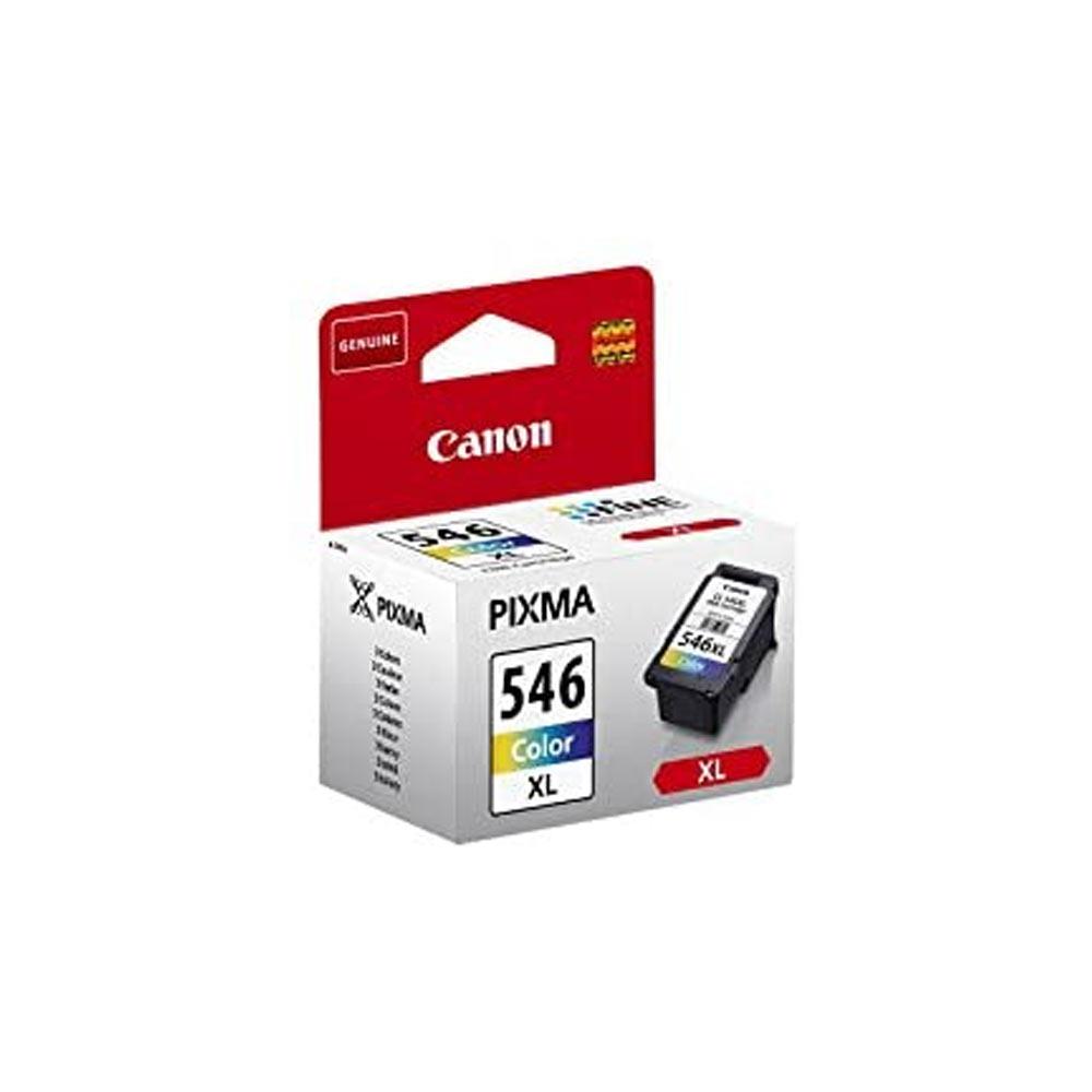 Cartuccia originale Canon CL-546XL con 3 colori misti ad alte prestazioni foto 3