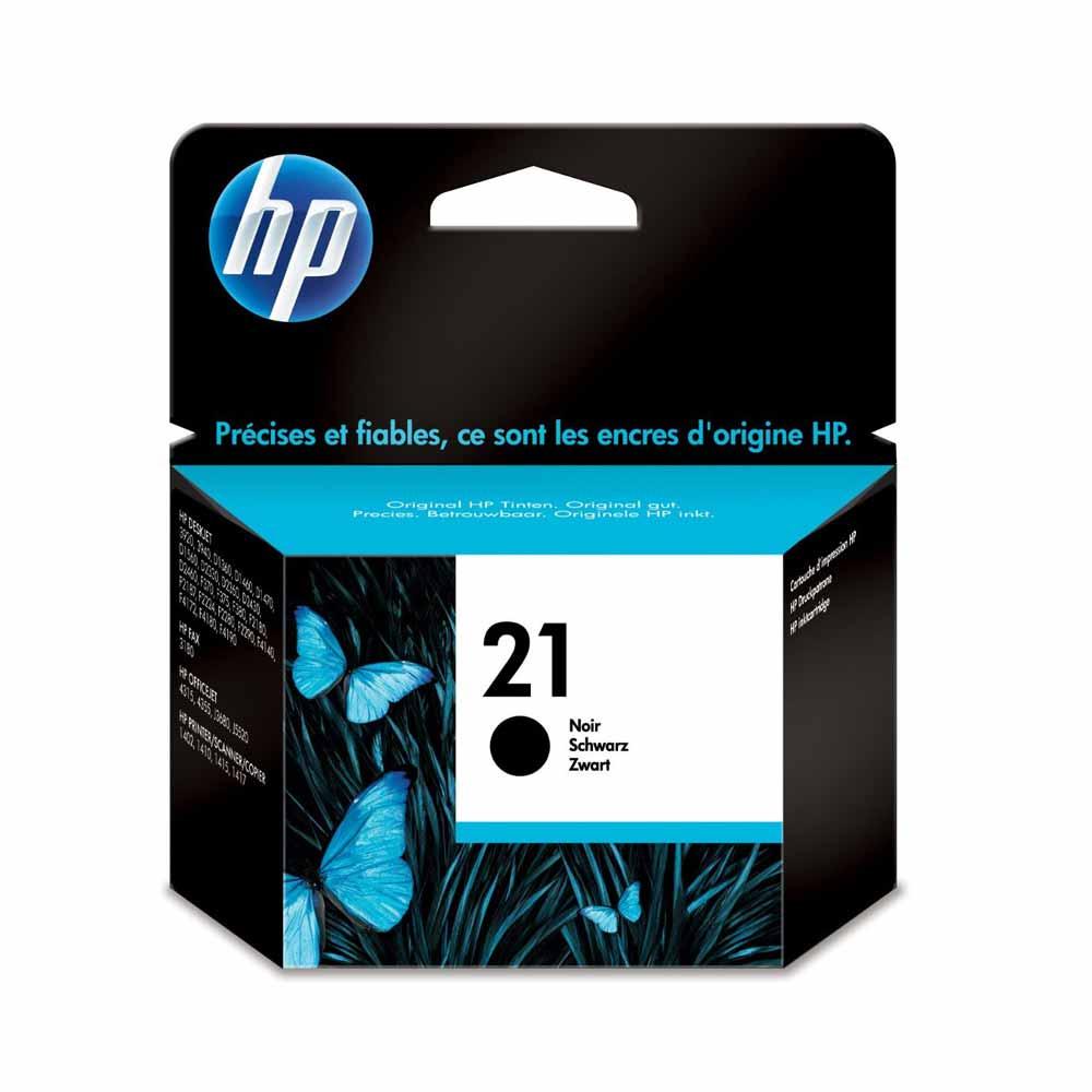 Cartuccia originale HP 21 colore nero ad alta qualita di stampa C9351AE foto 2