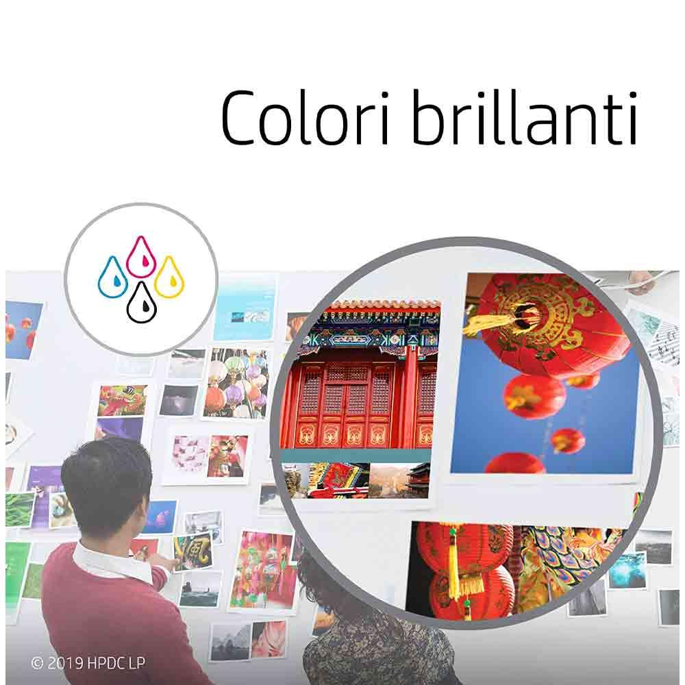 Cartuccia originale HP 303XL inchiostro a colori ad alte prestazioni T6N03AE  foto 6
