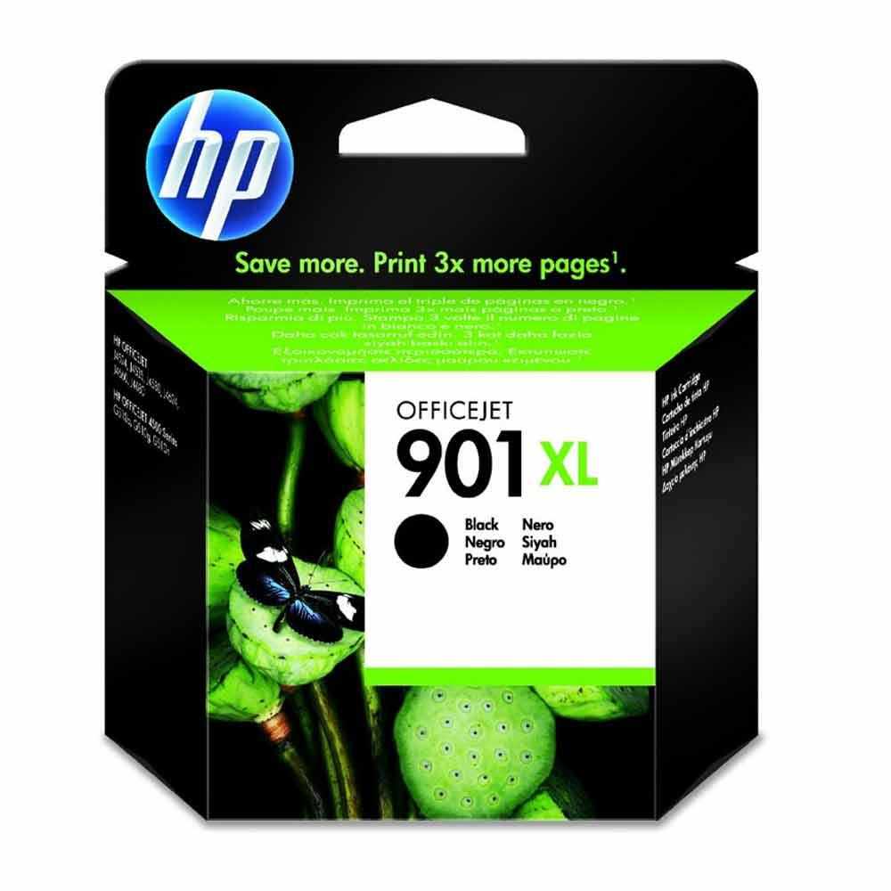 Cartuccia originale HP 901XL nero ad alte prestazioni di stampa CC654AE  foto 2