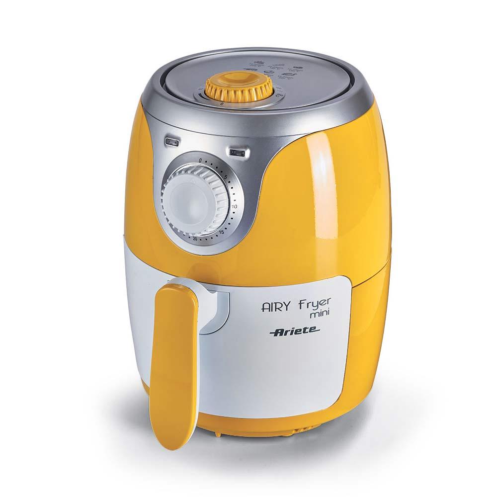 Friggitrice ariete airy fryer mini 4615 ad aria calda 2,4 litri cestello incluso