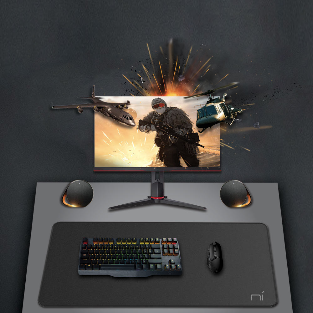 Mouse pad gaming xxl 900x400 4mm xl bordi in gomma cuciti antiscivolo