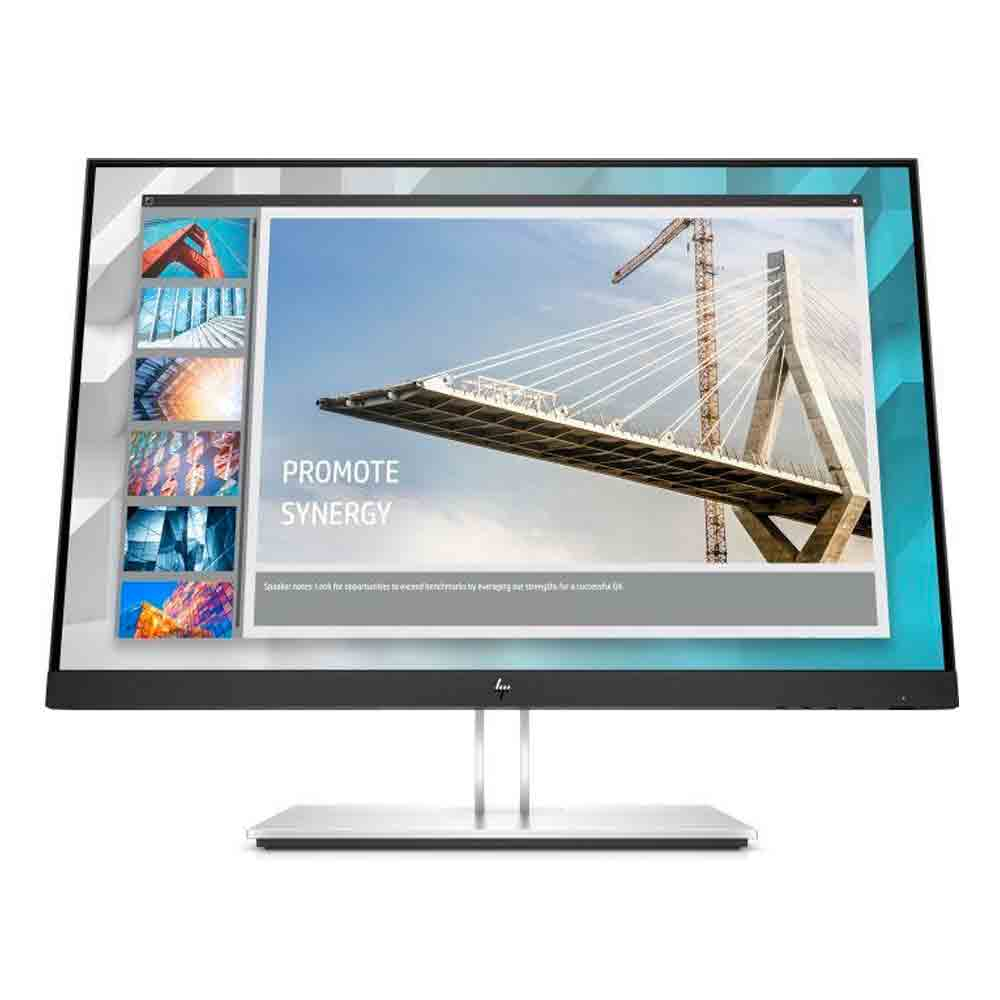 Monitor hp e24i g4 da 24 pollici wuxga fullhd vga hdmi 5ms con uscita audio