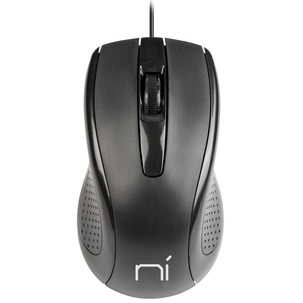 Mouse con filo usb ergonomico per computer e notebook pc e mac soft touch foto 2