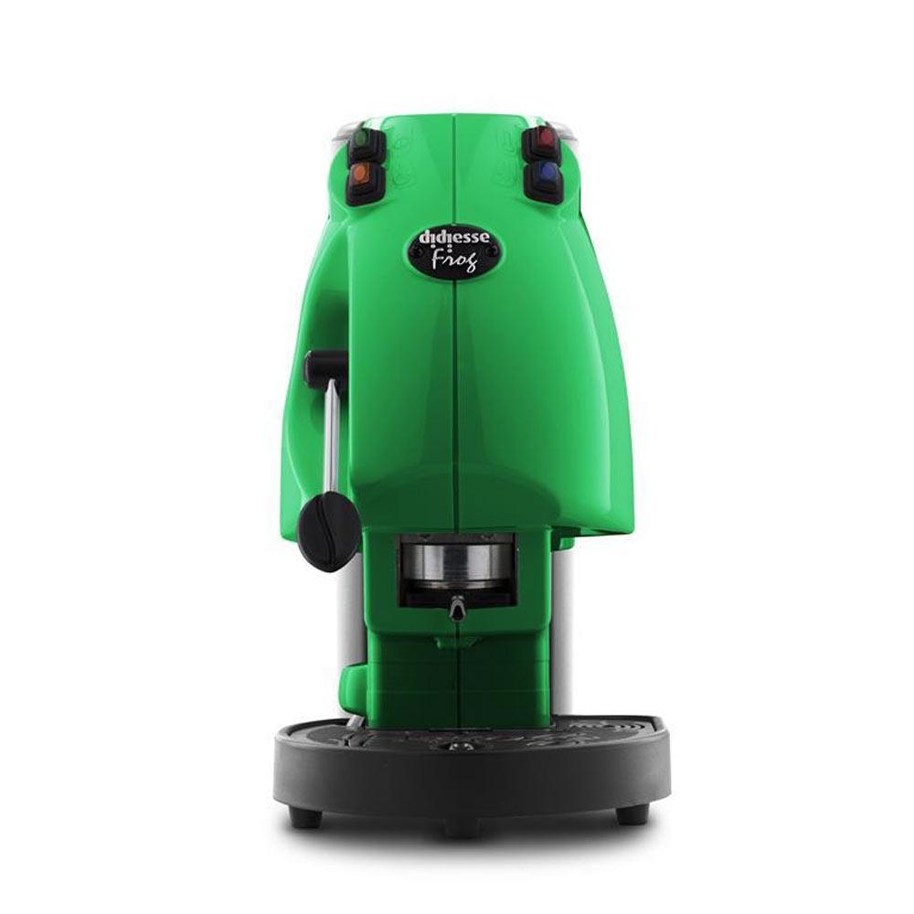 Macchina da caffe' didiesse frog revolution per cialde 44mm 36mm verde