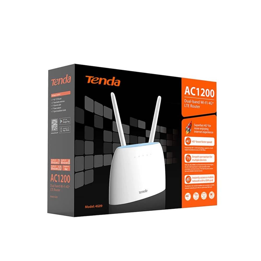 ROUTER TENDA 4G09 - AC1200 DUAL BAND 4G LTE 1PT WAN/LAN 1PT LAN foto 6