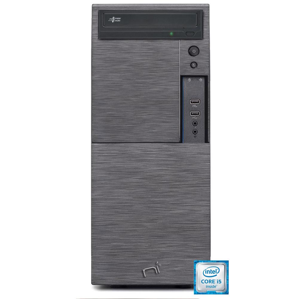 Computer pc fisso i5 quad core windows 10 pro 8gb ram, ssd 240gb, hd 1tb, wifi