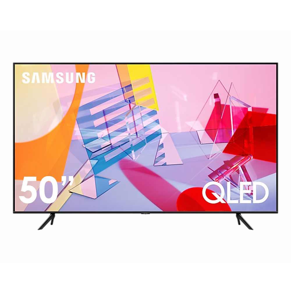 Tv smart samsung risoluzione 4k 50 pollici con tecnologia qled qe50q60tauxxh