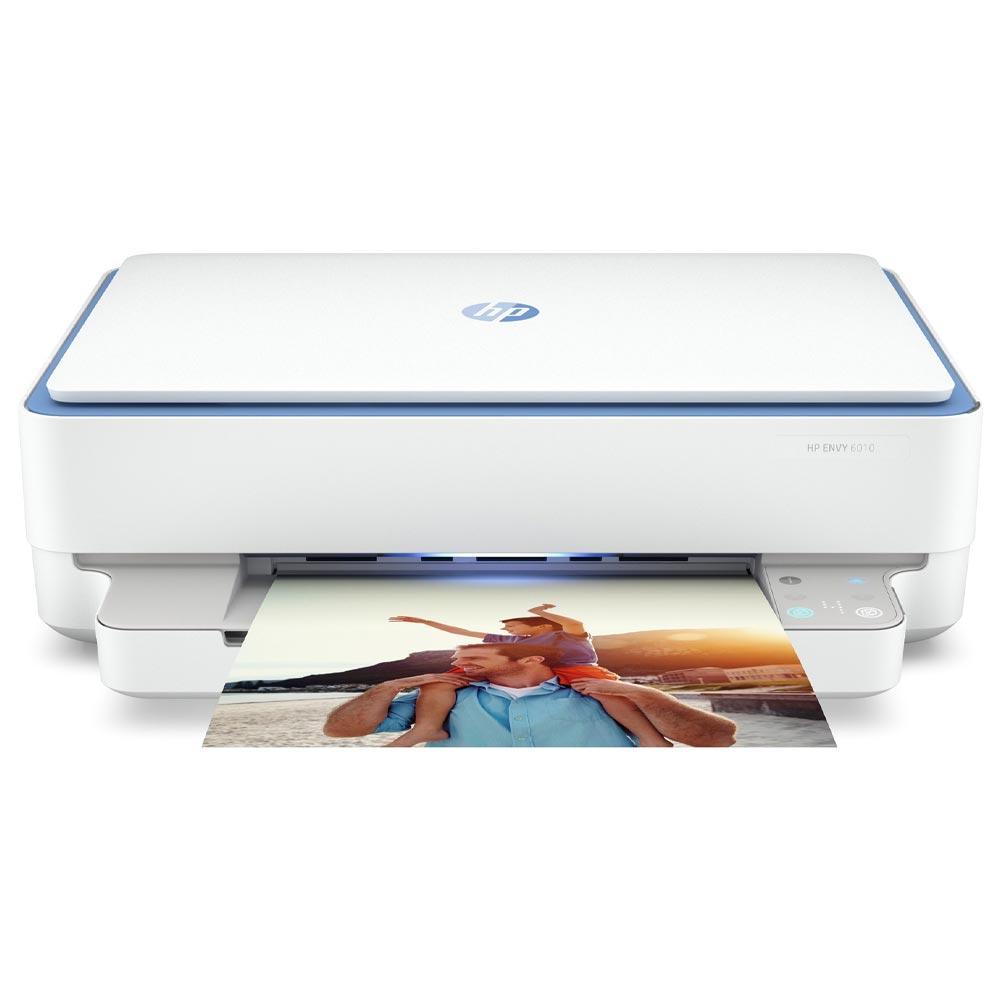 Stampante HP Envy 6010 AIO a getto di inchiostro fronte-retro automatico Wi-FI foto 2