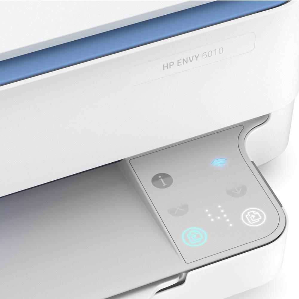 Stampante HP Envy 6010 AIO a getto di inchiostro fronte-retro automatico Wi-FI foto 5