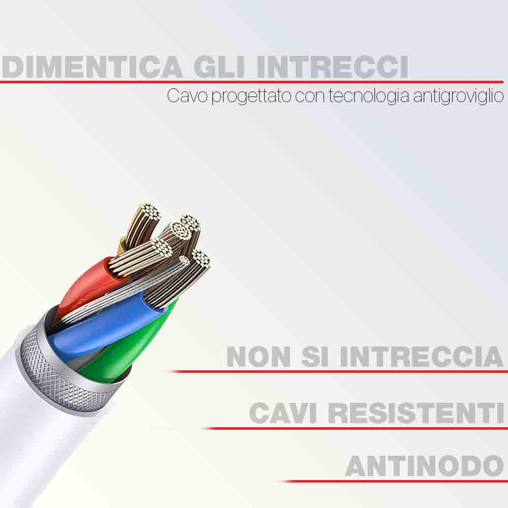 2 Auricolari Nere In-Ear con microfono isolamento del rumore antigroviglio 3,5mm foto 5