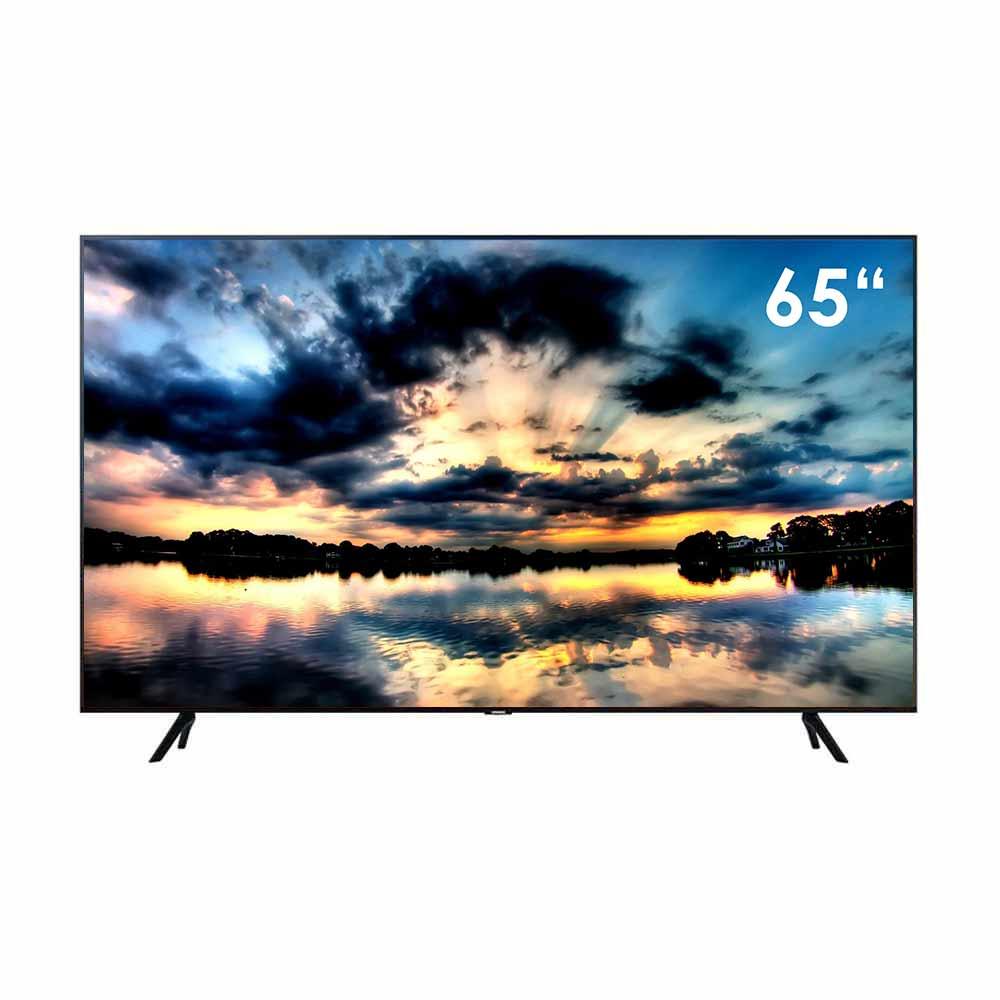 Smart TV Samsung 4K 65 pollici con Tizen DVB-T2 Wi-Fi Lan comandi vocali