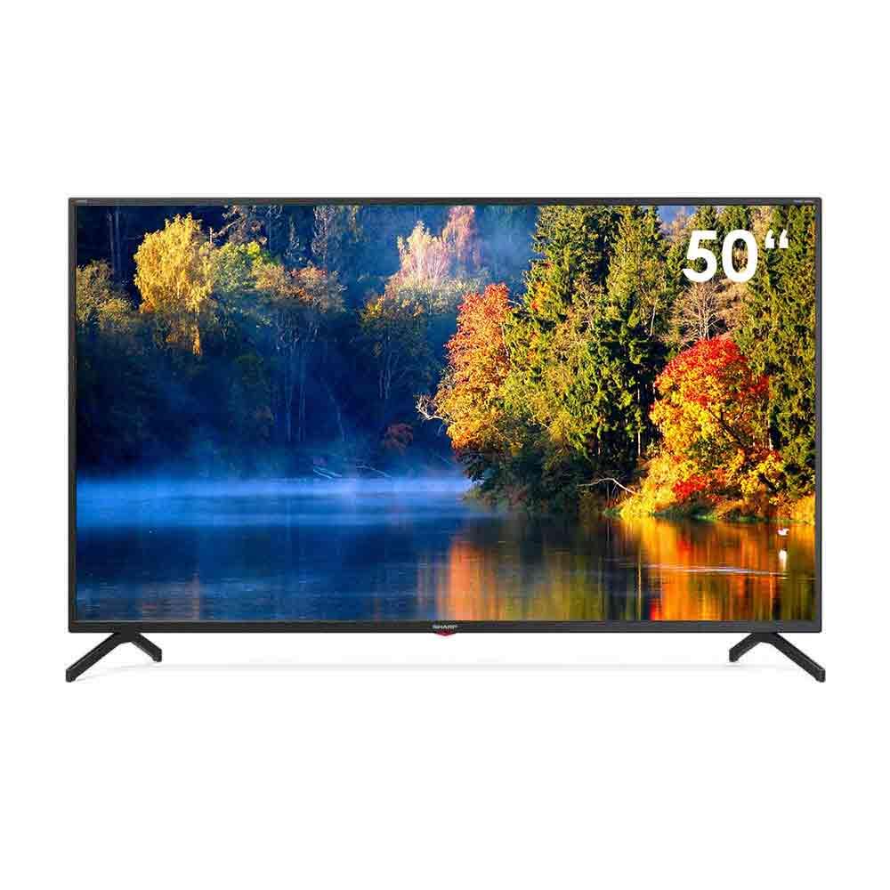 Smart tv sharp aquos 4k da 50 pollici androidtv 9 dvb-t2 wi-fi lan 50bn3ea .