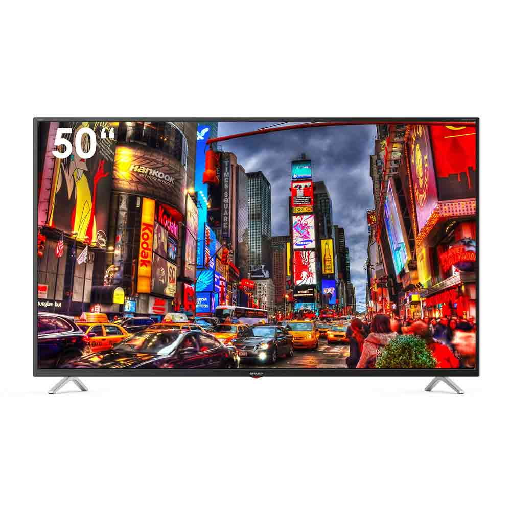 Televisore smart sharp aquos 4k 50 pollici androidtv 9 google assistant 50bl3ea .