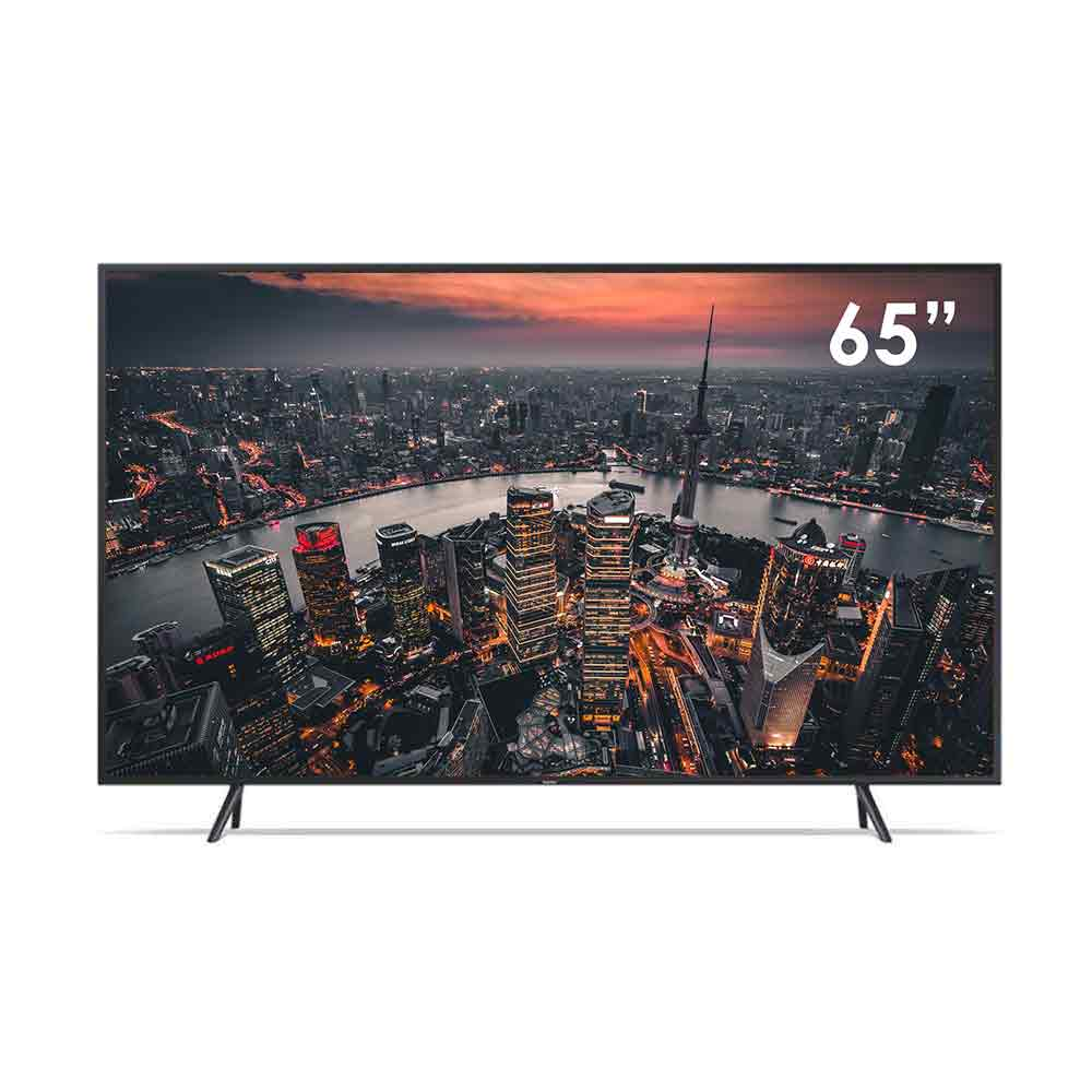 Tv smart samsung processore quantum 4k 65 pollici con tecnologia qled qe65q60rat.
