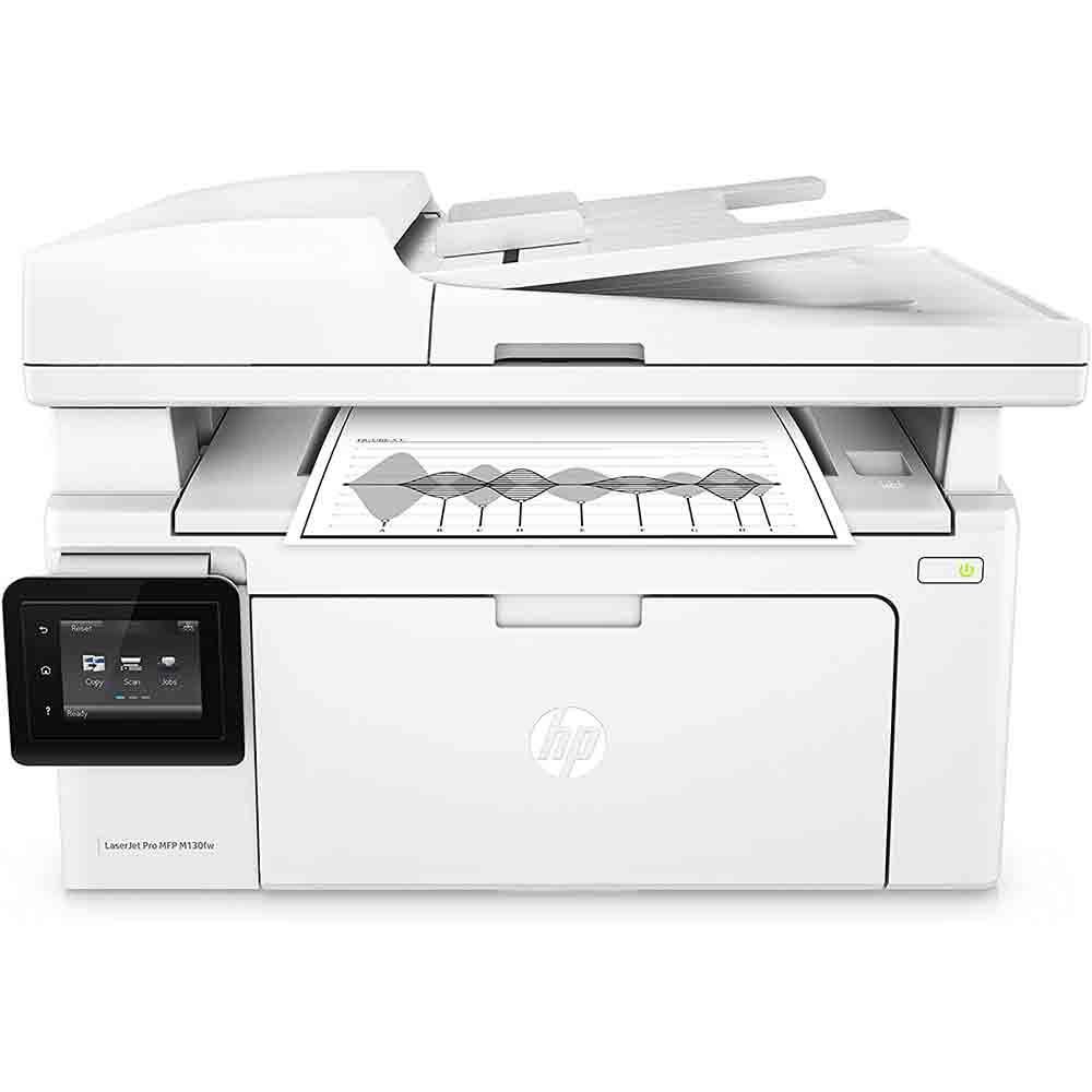 Stampante multifunzione hp130fw fronte-retro fax scanner fotocopiatrice wifi lan