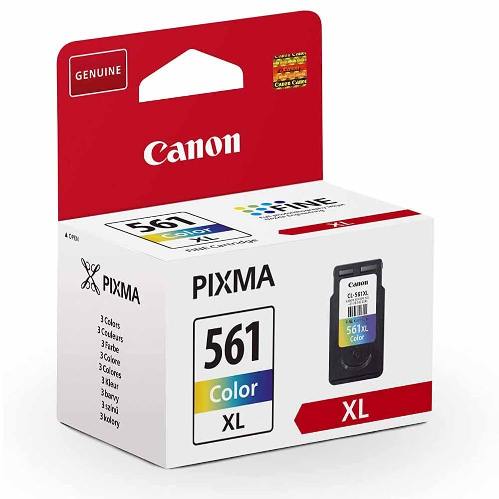 Cartuccia Canon originale CL-561XL inchiostro a colori alte prestazioni foto 3