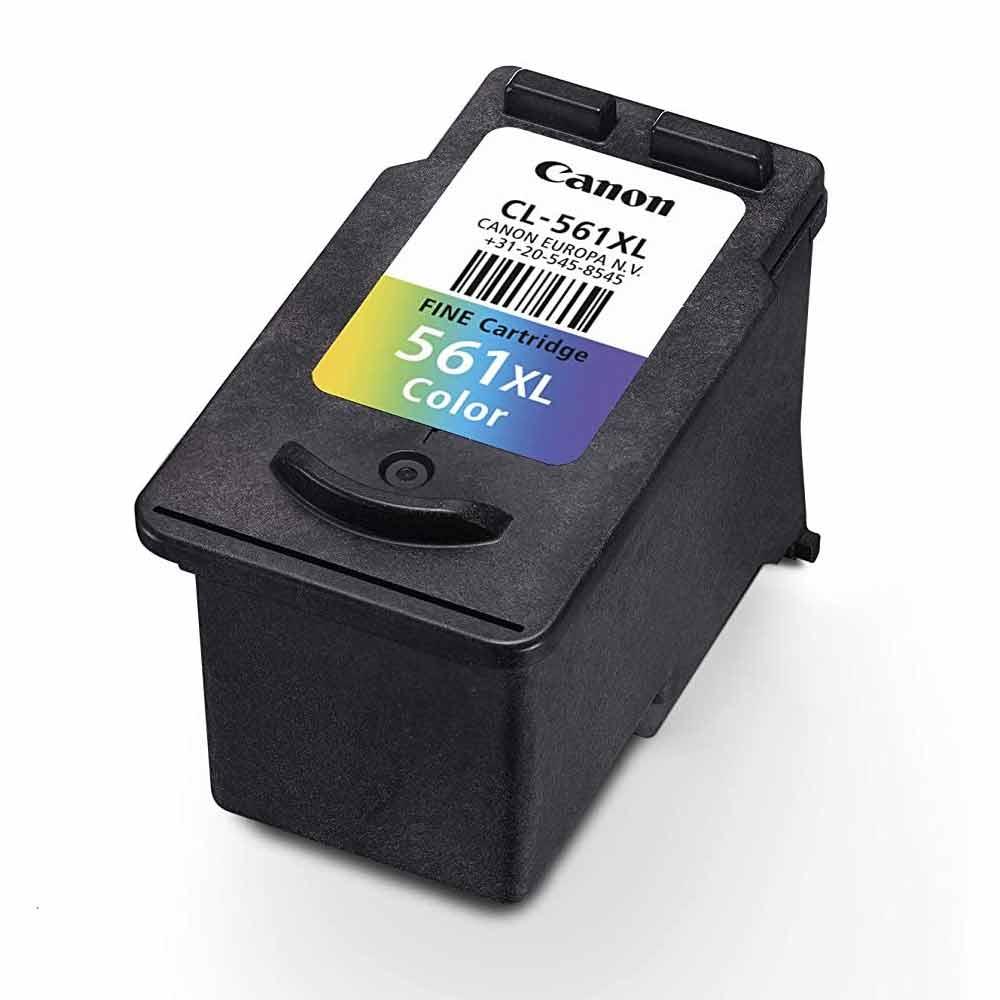 Cartuccia Canon originale CL-561XL inchiostro a colori alte prestazioni foto 4