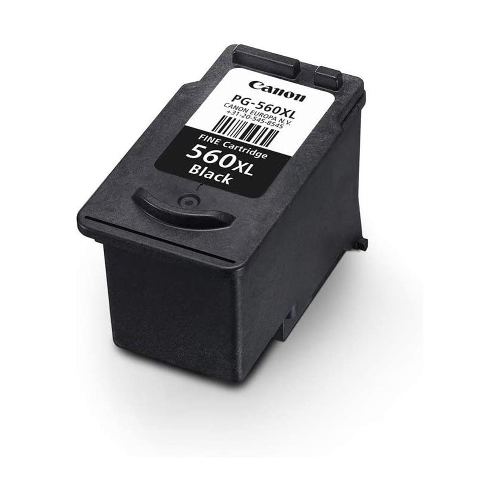 Cartuccia originale Canon PG-560XL inchiostro nero alte prestazioni di stampa foto 4