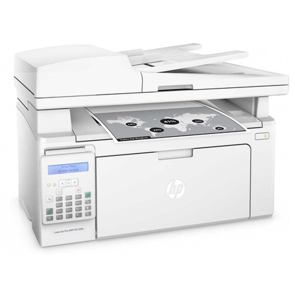 Stampante HP LaserJet PRO M130FN multifunzione fotocopiatrice Scan fax LAN USB foto 4