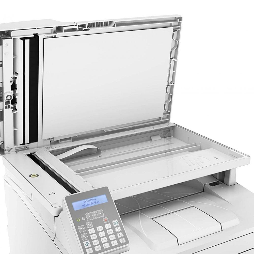 Stampante HP LaserJet pro M148FDW bianco nero multifunzione e fax wireless foto 5