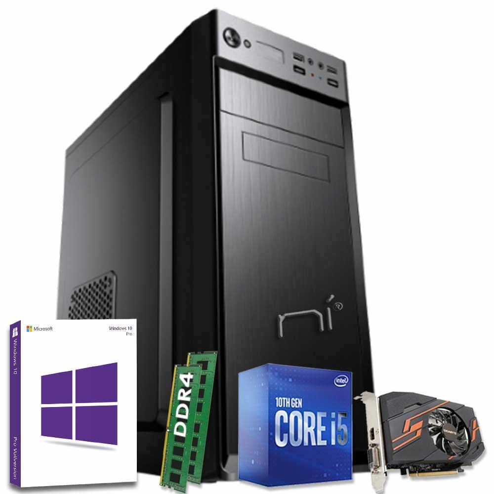 Computer fisso windows 10 intel i5-10400 16gb ram ssd 480gb nvidia gt-1030 2gb