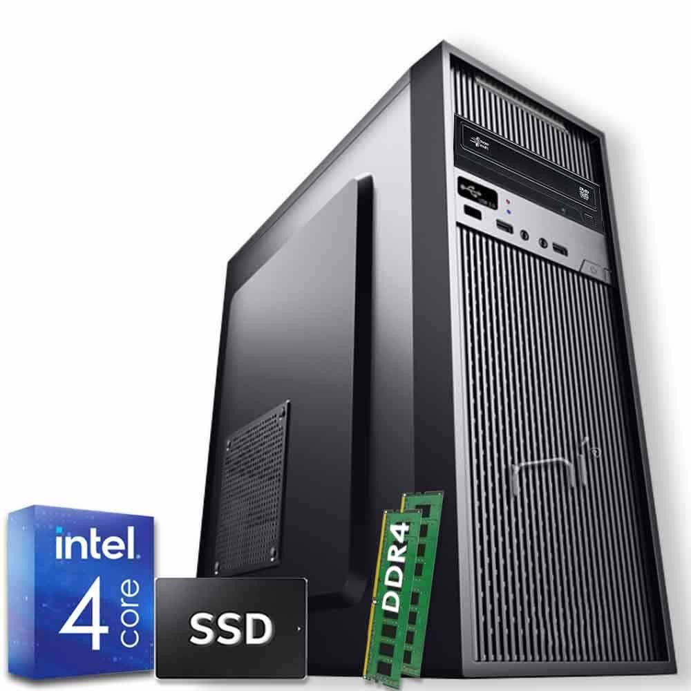 Pc Desktop Intel quad core 16gb ram DDR4 ssd 1tb Windows 10 WiFi HDMI foto 2