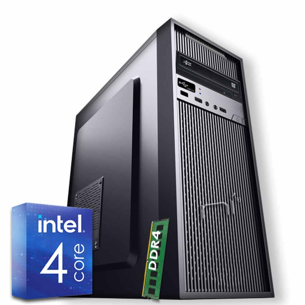 Pc Desktop Windows 10 Intel quad core 8gb ram DDR4 hard disk 1TB WiFi HDMI