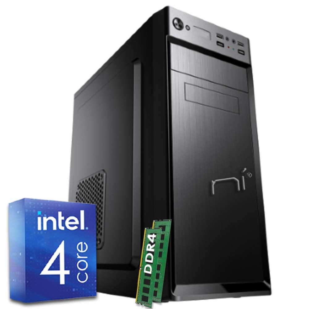 Pc fisso 3 monitor intel quad-core 16gb ram 1 tb hard disk windows 10 wifi hdmi foto 2