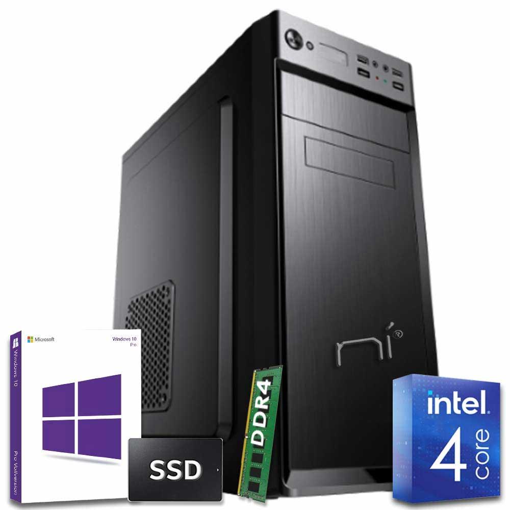 Pc fisso assemblato Pulsar Intel quad core 8gb ram DDR4 ssd 240gb WiFi HDMI foto 2