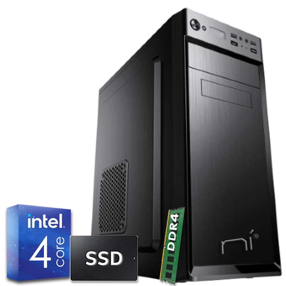 Pc fisso Windows 10 con licenza Intel quad core 16gb ram DDR4 hard disk 1tb WiFi foto 2