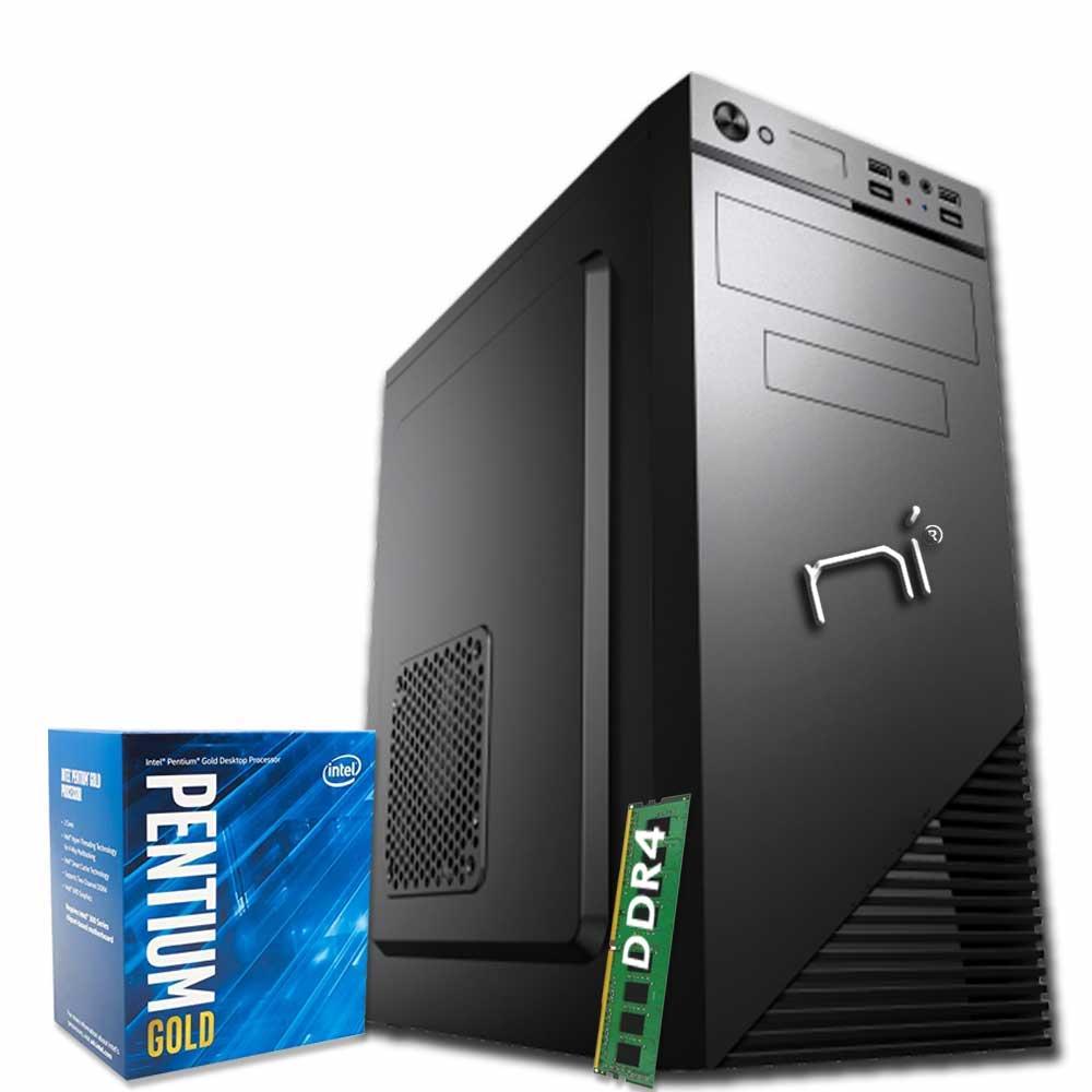 Pc fisso Windows 10 Intel dual-core G5400 8gb ram hard disk 1TB WiFi HDMI foto 2