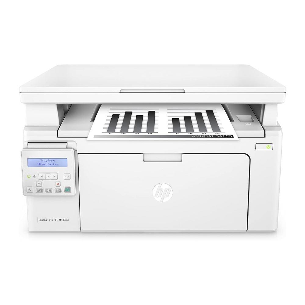 Stampante HP LaserJet PRO M130NW laser funzione scanner fotocopiatrice Wi-Fi LAN foto 2