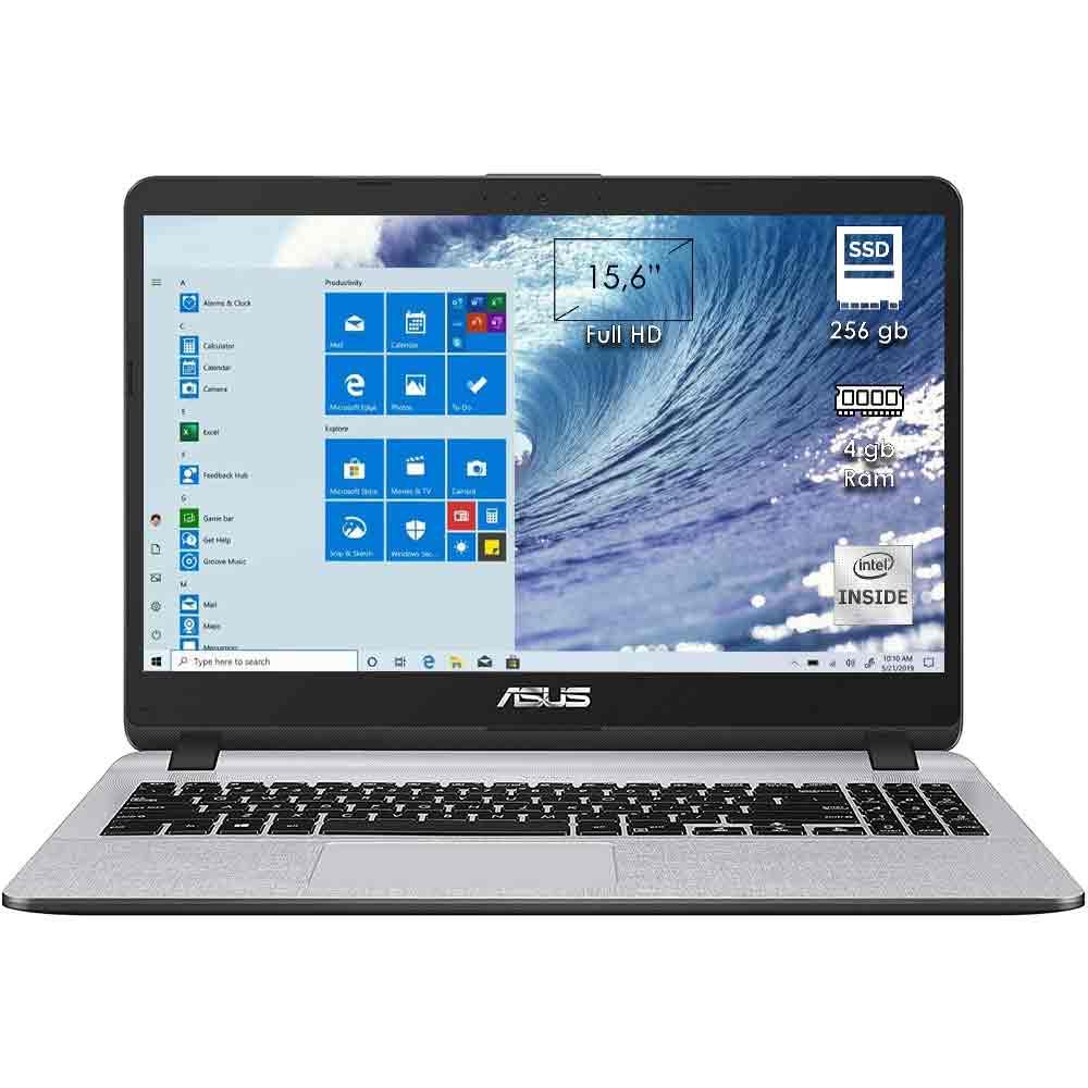 Notebook asus x507ma-br376t 15,6 Intel N4000 4GB RAM SSD 256GB Windows 10 foto 2