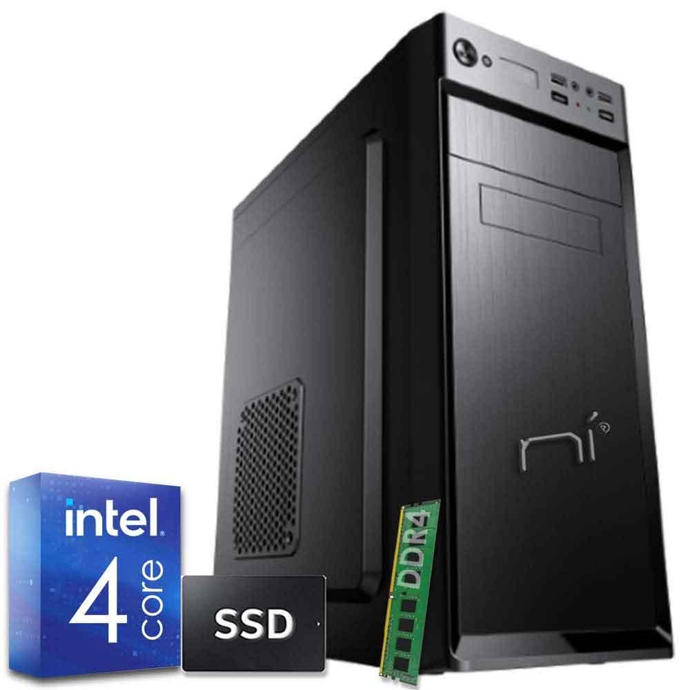 Pc Desktop Windows 10 Intel quad core 8gb ram DDR4 ssd 1tb WiFi HDMI foto 2
