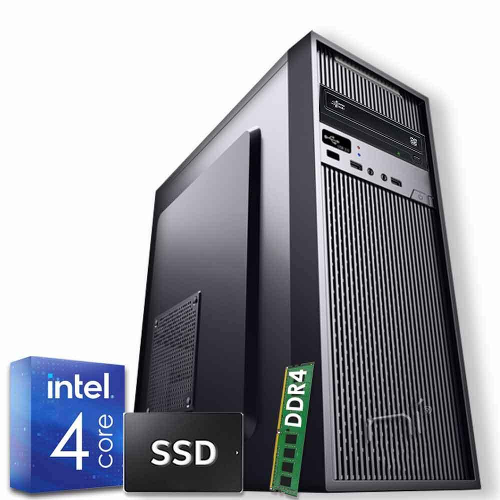 Pc desktop windows 10 intel quad core 8gb ram ddr4 ssd 480 gb wifi hdmi