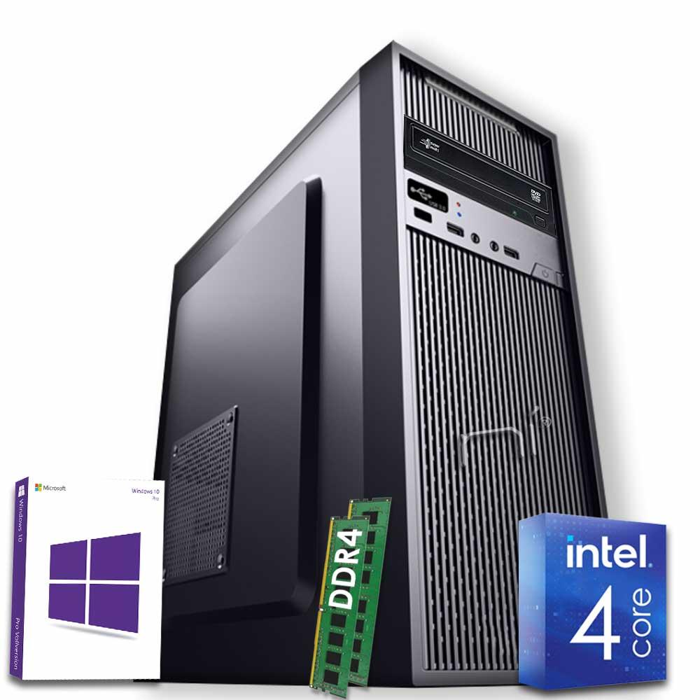 Pc fisso 3 monitor intel quad-core 16gb ram 1 tb hard disk windows 10 licenziato foto 2