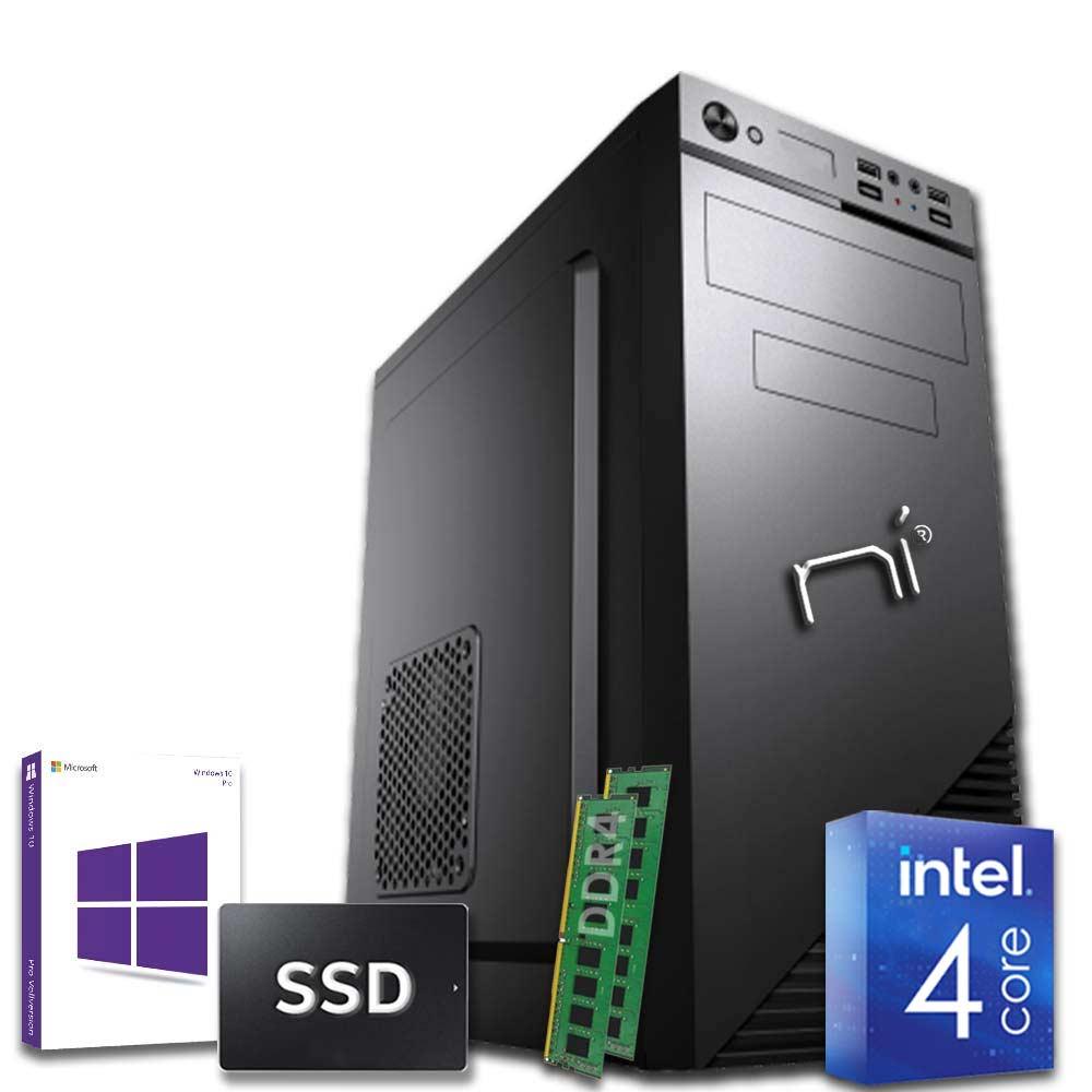 Pc fisso 3 monitor intel quad-core 16gb ram DDR4 240 gb ssd Win10 con licenza