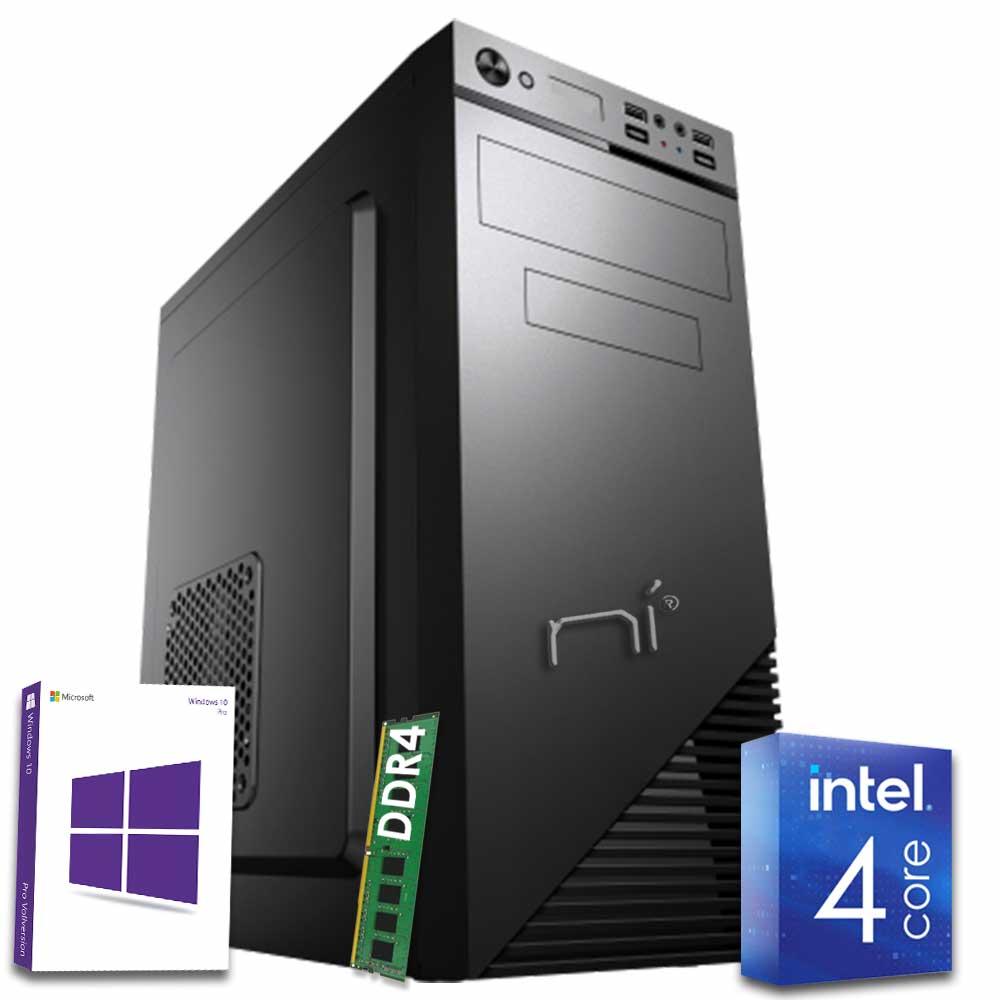 Pc fisso 3 monitor intel quad-core 8gb ram 1 tb hard disk windows 10 licenziato foto 2