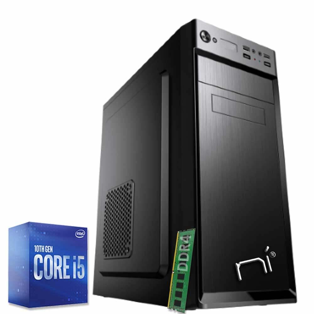 Pc fisso windows 10 intel six-core i5-10400 8gb ram ddr4 hard disk 1tb wifi hdmi