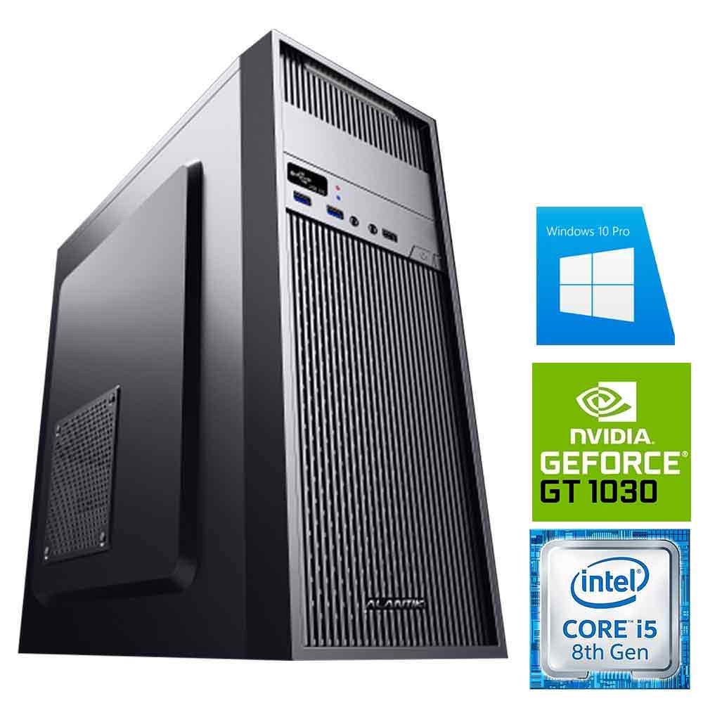 Pc gaming scheda video nvidia gt-1030 2 gb Intel i5-8400 8gb ram hdd 1tb Win 10 foto 2