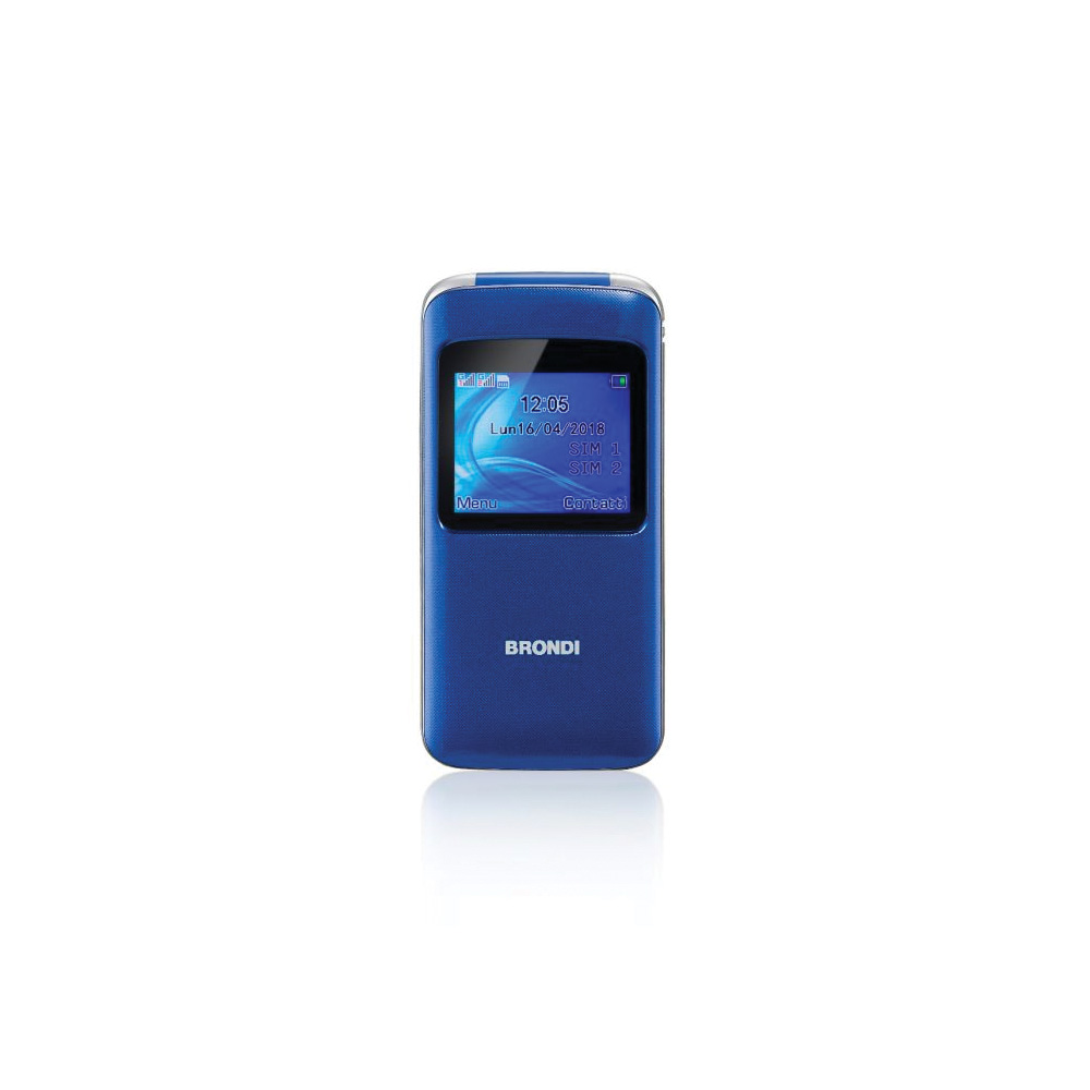 Cellulare Brondi window blue dualsim foto 2