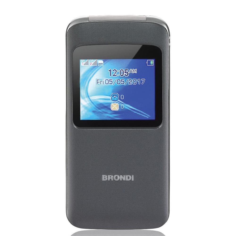 Cellulare Brondi window grigio dualsim foto 2