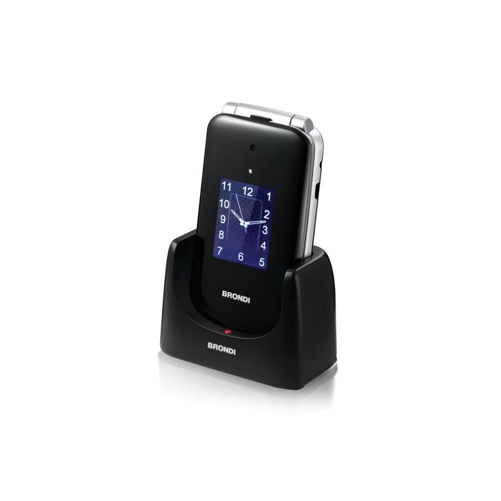 Cellulare brondi amico senior dual sim con tecnologia amplivox di colore nero foto 3